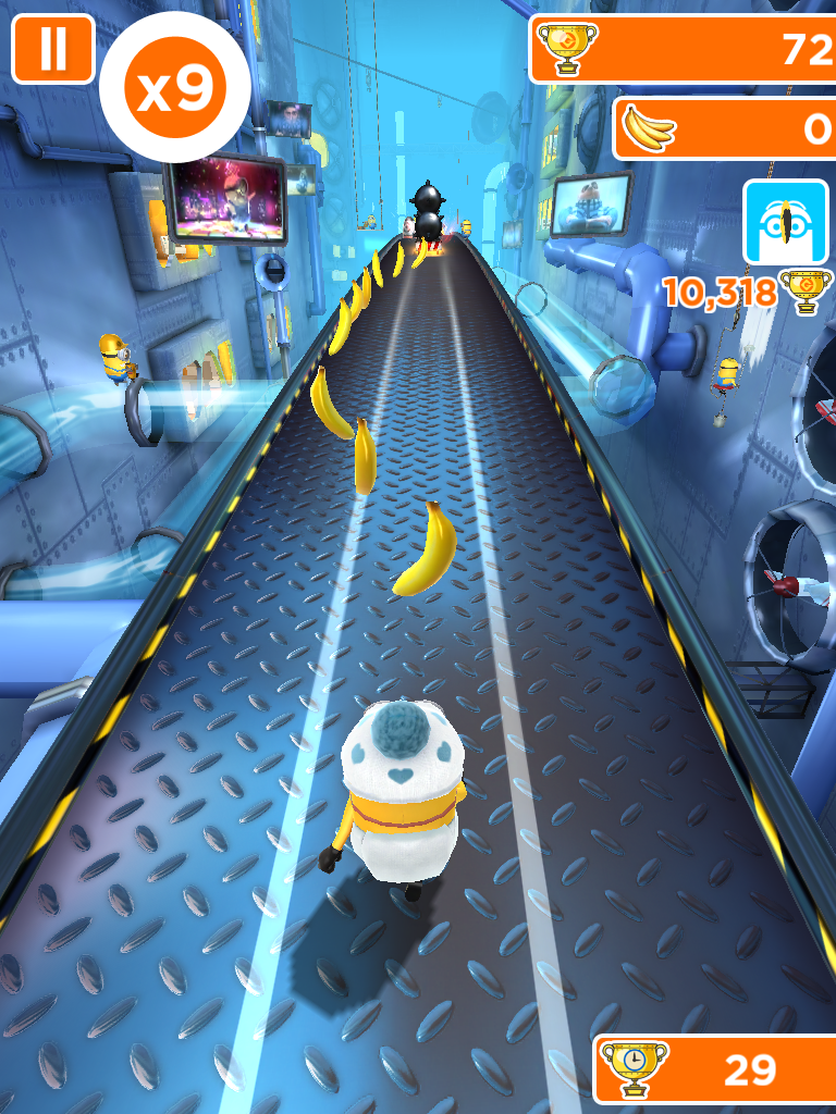 Minion Rush App Review, from a 13 part series on iPad apps by GagenGirls.com
