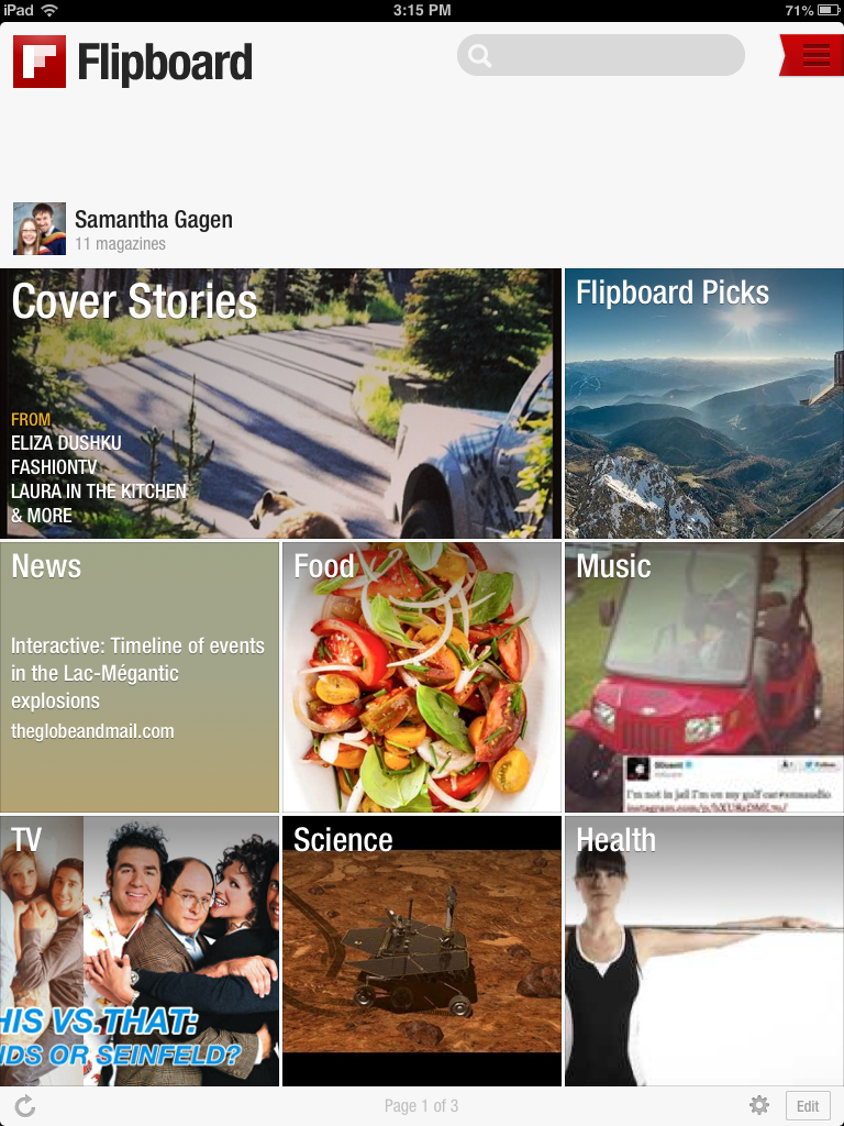 Flipboard App Review, from a 13 part series by GagenGirls.com