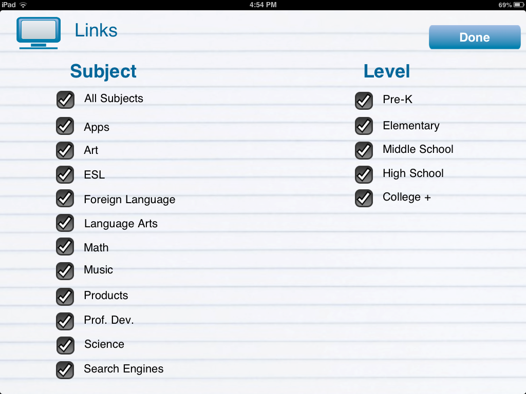 eduTecher Backpack App Review, from a 13 part series on iPad apps by GagenGirls.com