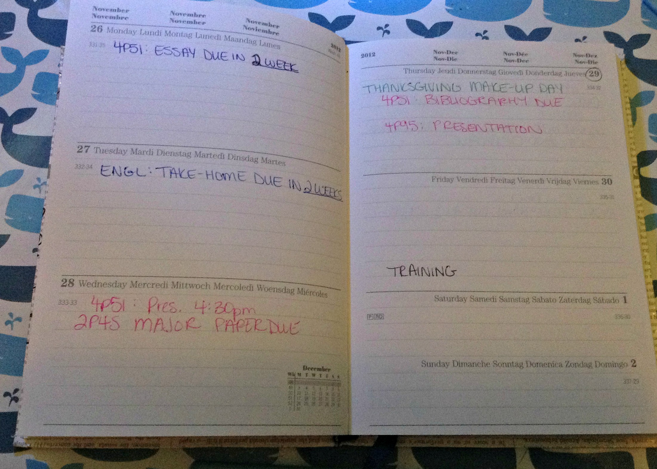 Organize Your School Planner with GagenGirls.com, a great back-to-school article