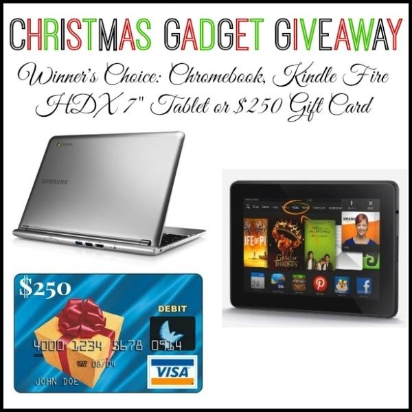 Christmas Gadget Giveaway Open Worldwide Gagen Girls