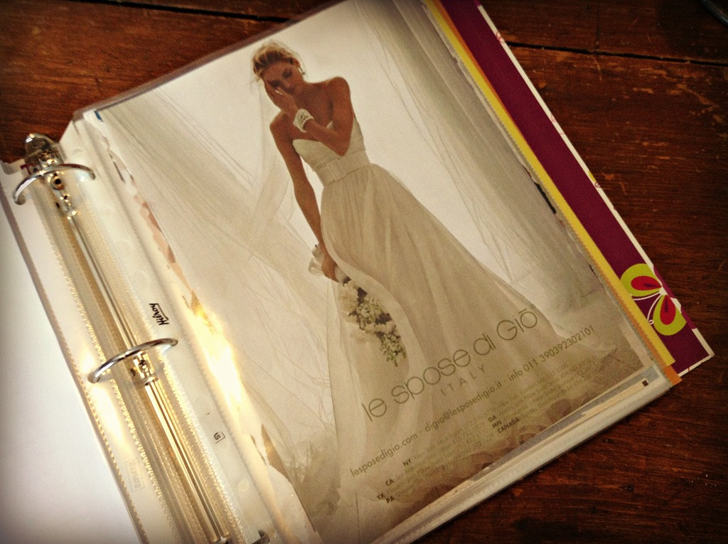 How to make a wedding planning binder your easy step by step dress pic solutioingenieria Image collections