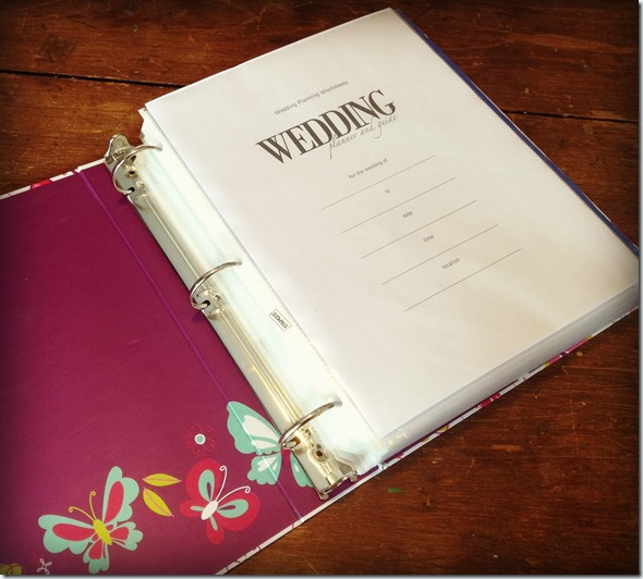 How To Make A Wedding Planning Binder Your Easy Step By