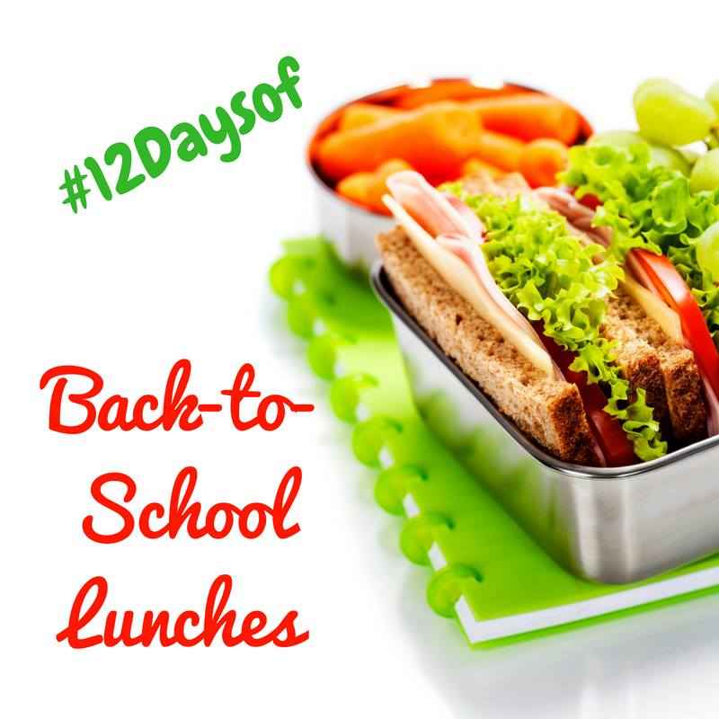 12 Days of Back-to-School Lunches