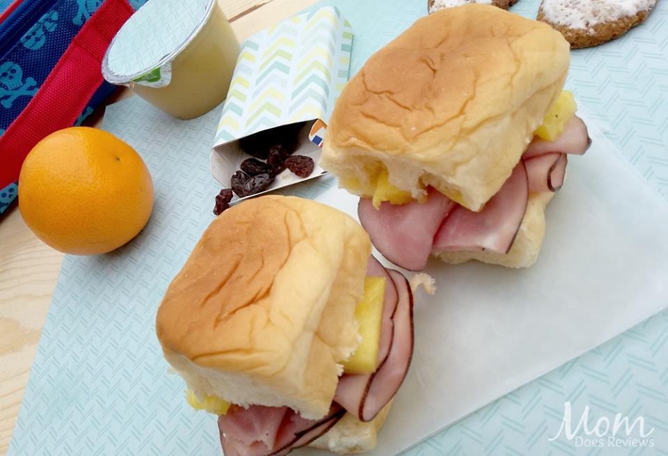 Ham and Pineapple Hawaiian Slider