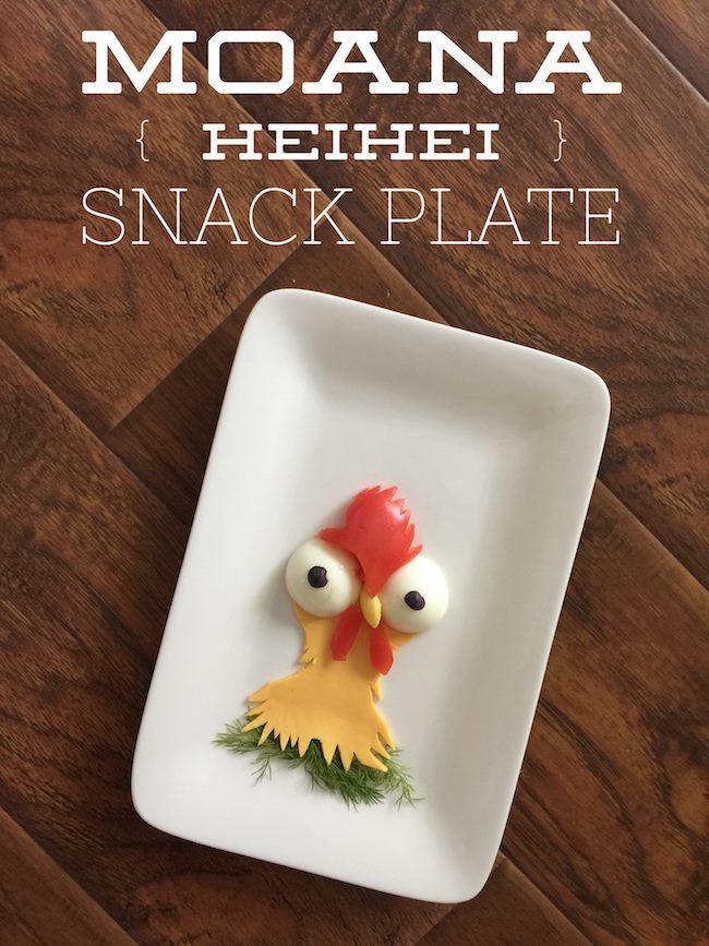 Disney's Moana HeiHei Snack Plate