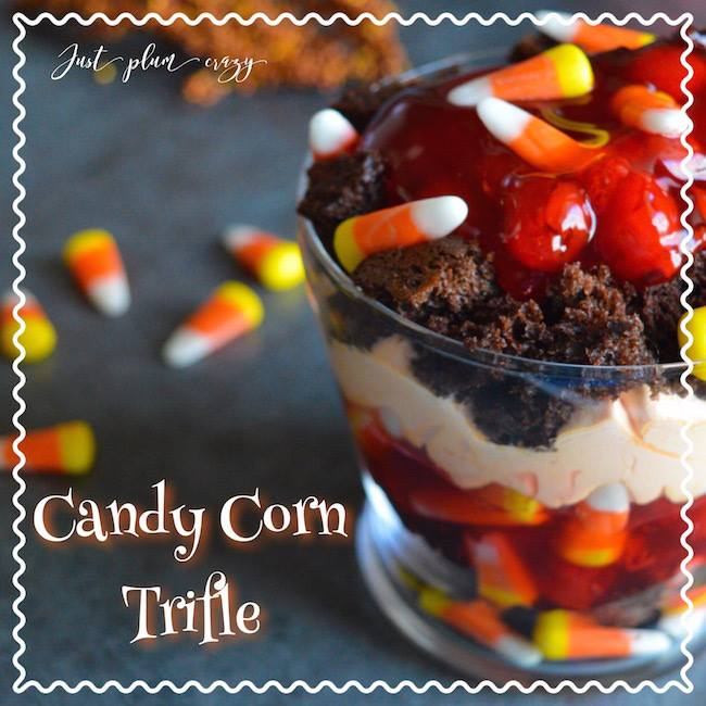 This sweet and spooky Candy Corn Trifle is Day 8 of the #12DaysOf Hallowe'en Crafts and Recipes @ GagenGirls.com