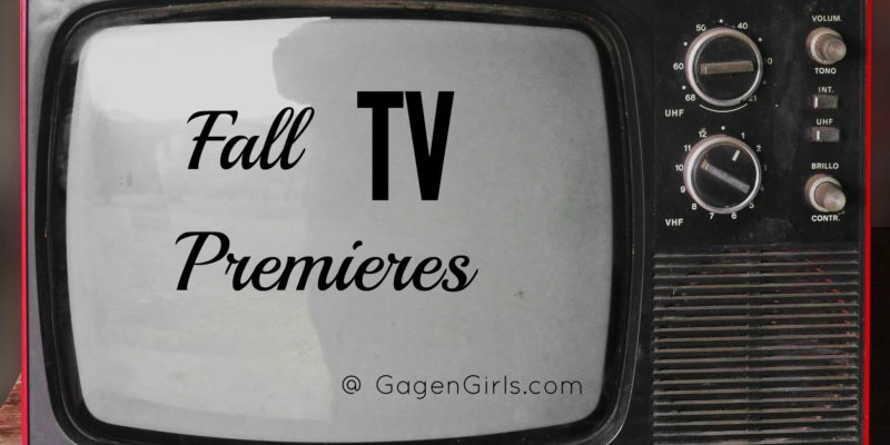 Fall TV Premieres - the Good, the Okay & the God-Awful; read the full review at GagenGirls.com