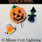 Hallowe'en Pony Bead Beadie Buddies {15-Minute Craft Lightning}
