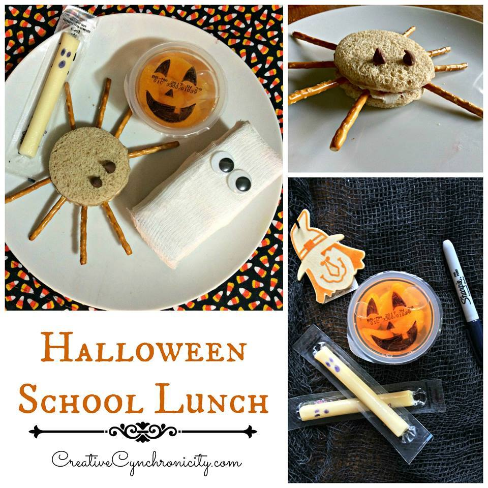 Check out this spook-tacular Halloween School Lunch @ GagenGirls.com