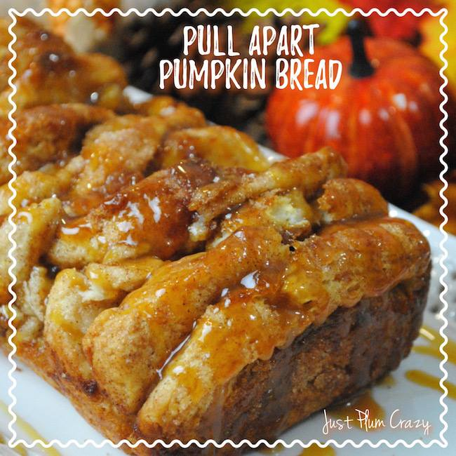 This Pull Apart Pumpkin Bread is part of the #12DaysOf Thankgiving at GagenGirls.com