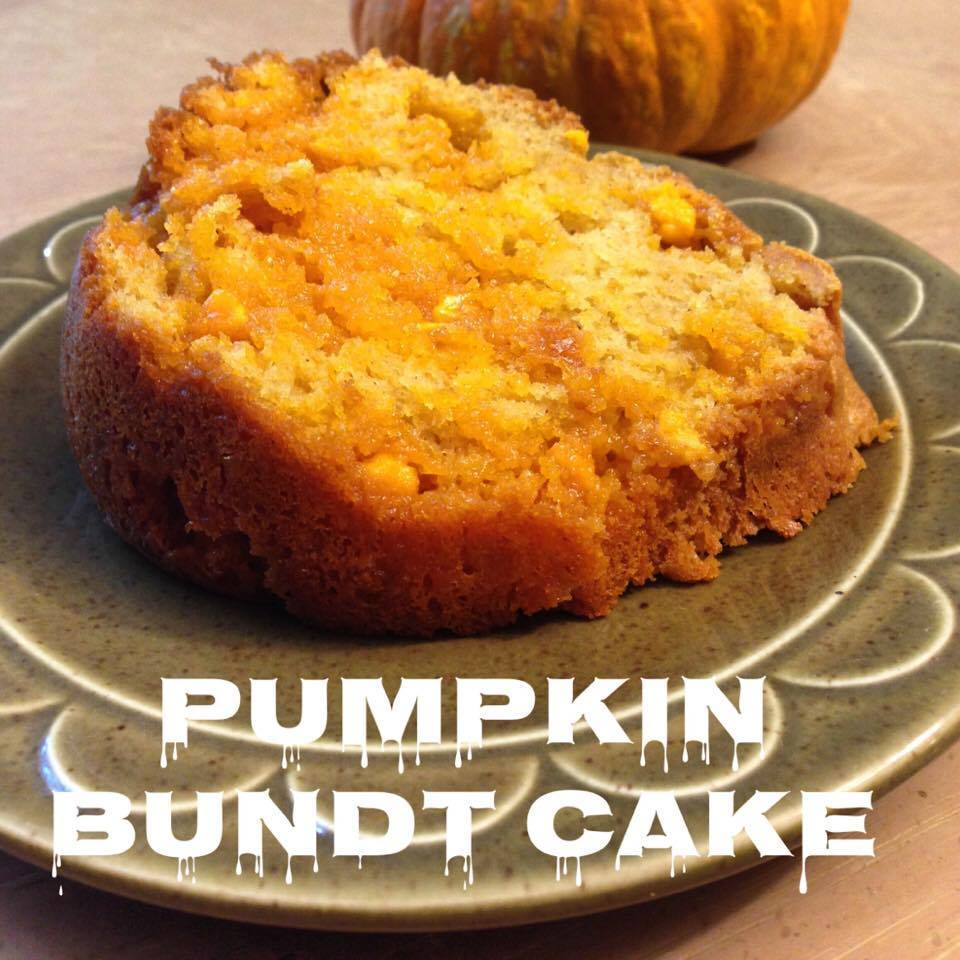 This Pumpkin Bundt Cake is part of the #12DaysOf Thanksgiving at GagenGirls.com