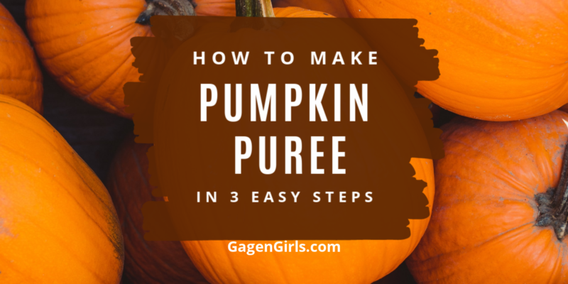 How to Make Pumpkin Puree in 3 Easy Steps