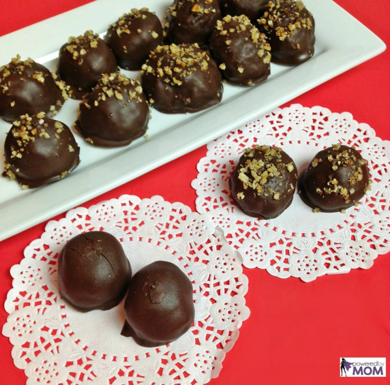 Chocolate Coconut Bon Bons - perfect for Valentine's Day!
