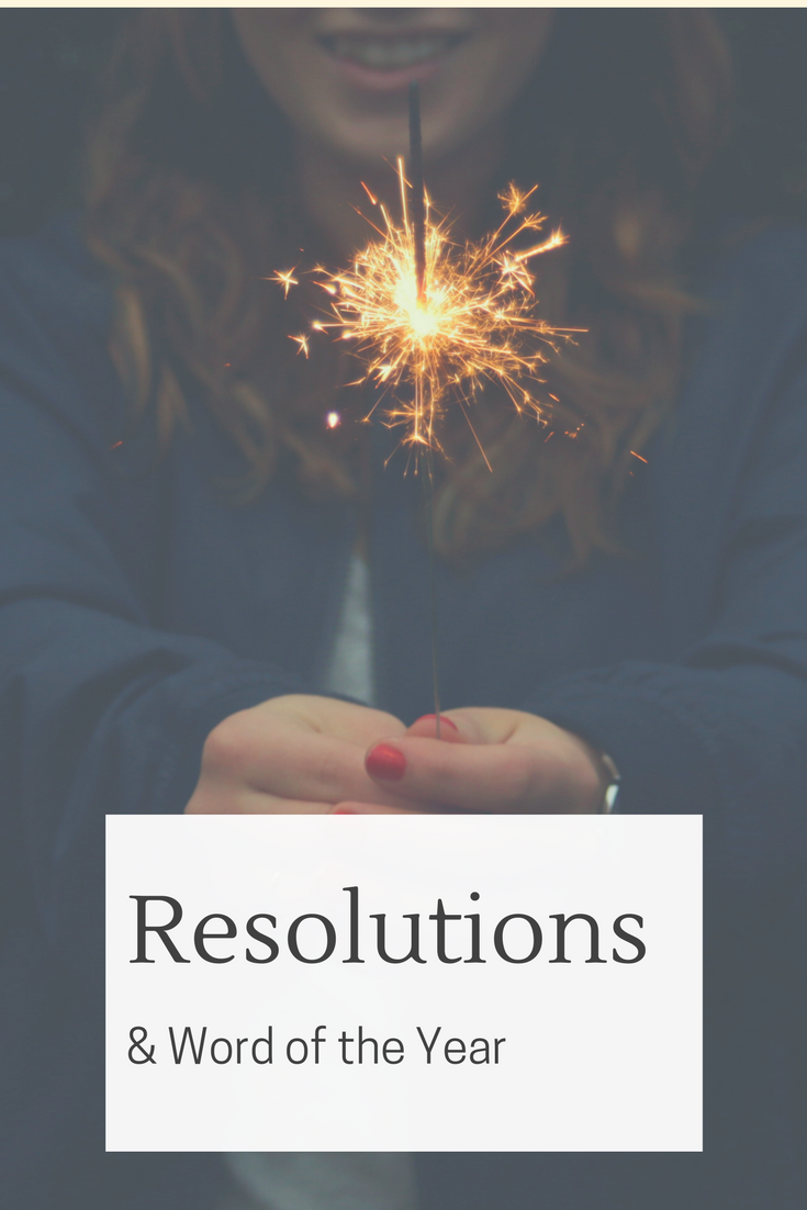 New Years Resolutions and Words of the Year can be very powerful if done properly. We're sharing our resolutions so you can be part of our journey and use our goals as inspiration for your own!