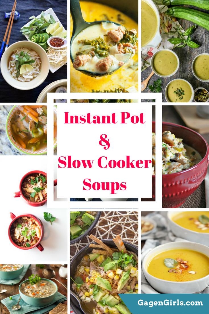 Soup can be one of the easiest things to cook, especially during the winter when all you want to do is curl up under a blanket. They're even easier when done in the Instant Pot or Slow Cooker. Grab these fantastic recipes and get cozy.