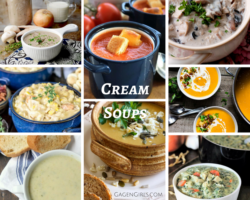 Is there anything heartier than a nice creamy soup? Grab some amazing recipes for this ultimate comfort food and check out other warm and hearty soup recipes.