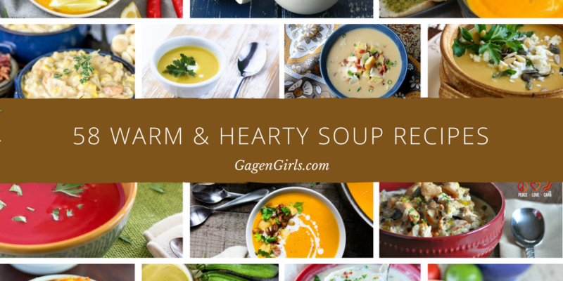 Looking for warm and hearty soup recipes? We
