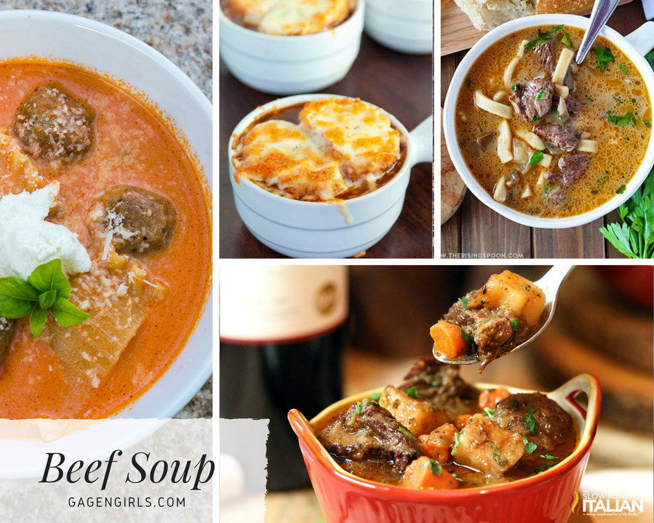 These beef soup recipes are so warm and hearty, you'll be cozy no matter the weather!