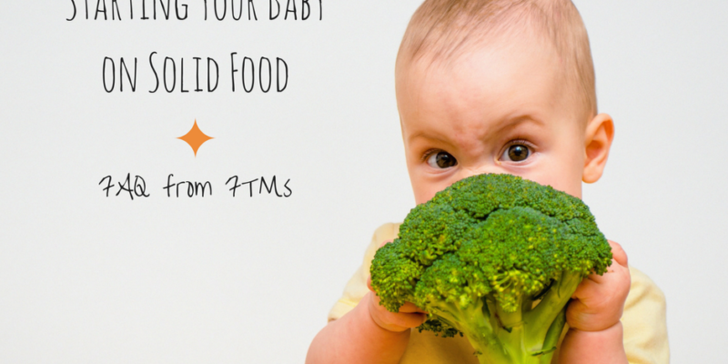 Weaning your baby onto solid food can be an exciting time full of new decisions - here