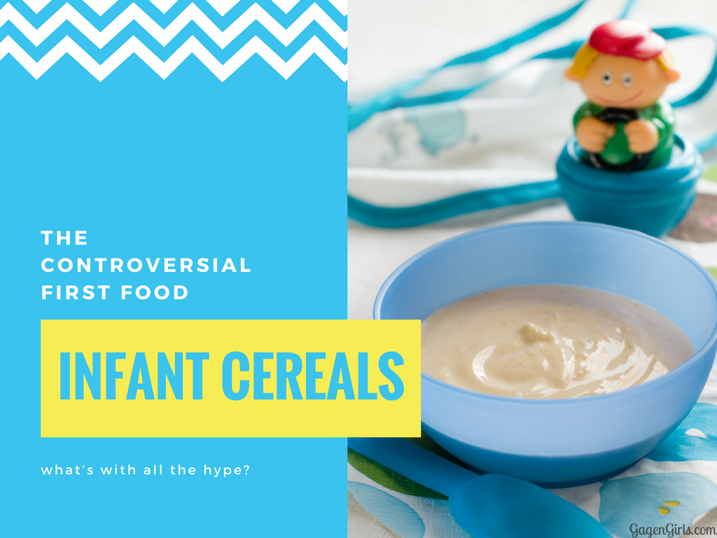 Infant cereals are a BIG point of contention among the internet moms. But why?