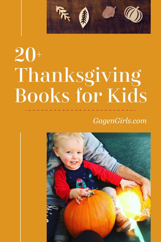 20+ Thanksgiving Books for Kids