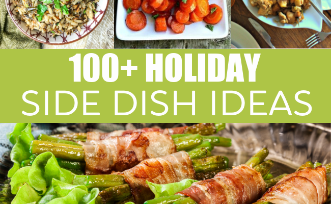 100+ holiday side dish recipes