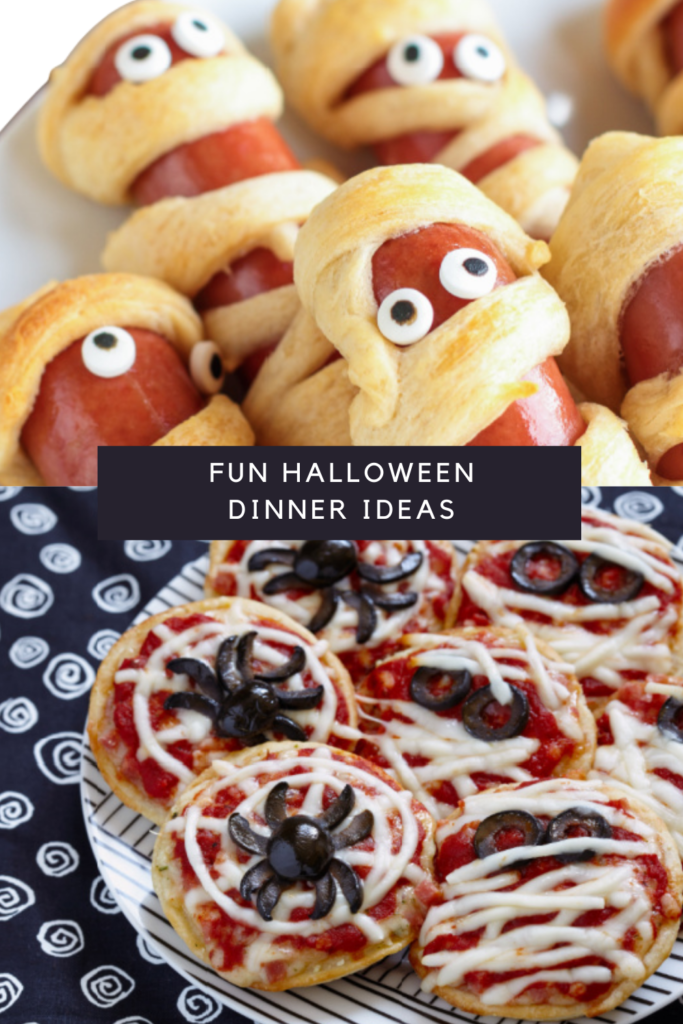 fun and really simple halloween meals