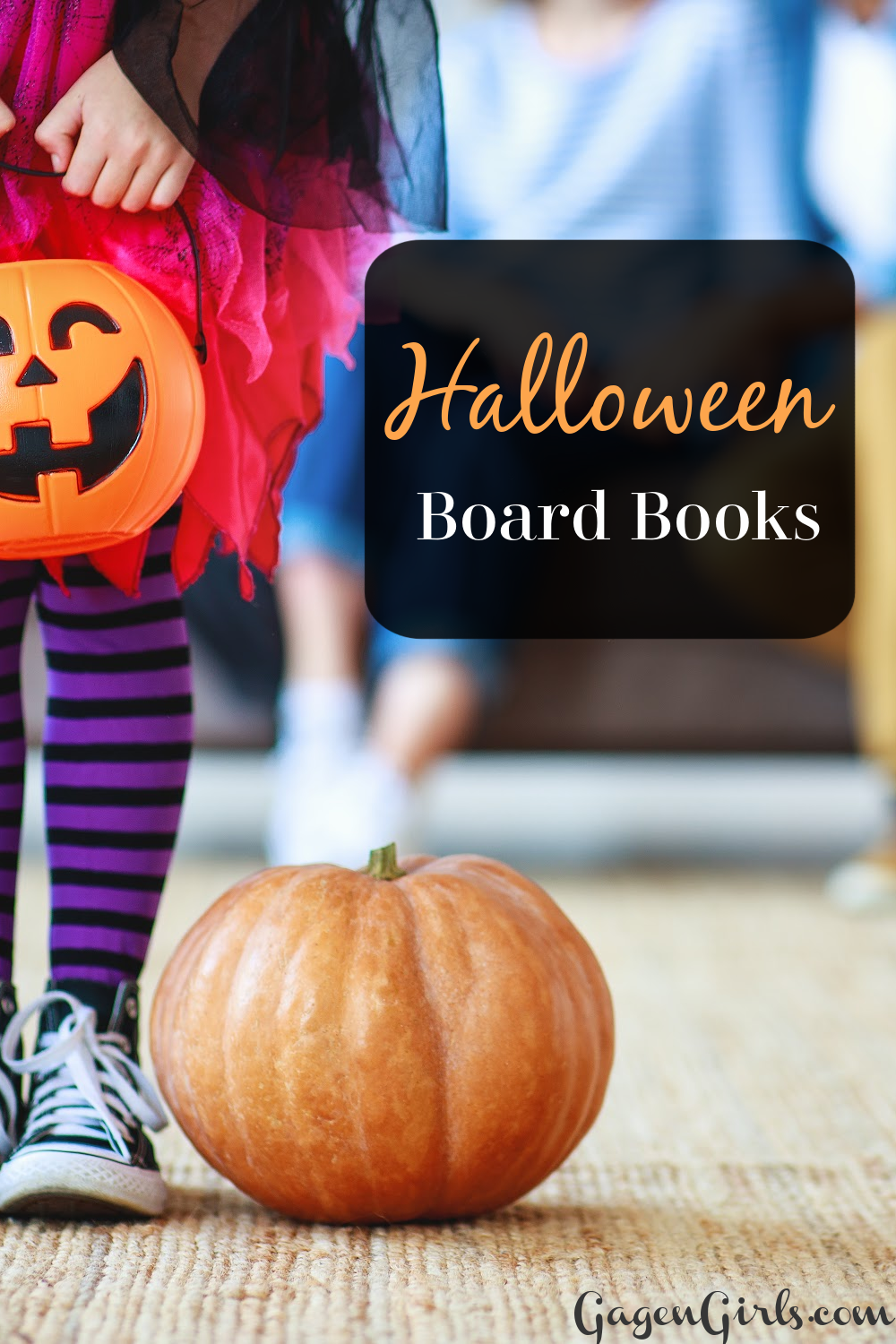 Halloween Board Books at GagenGirls.com