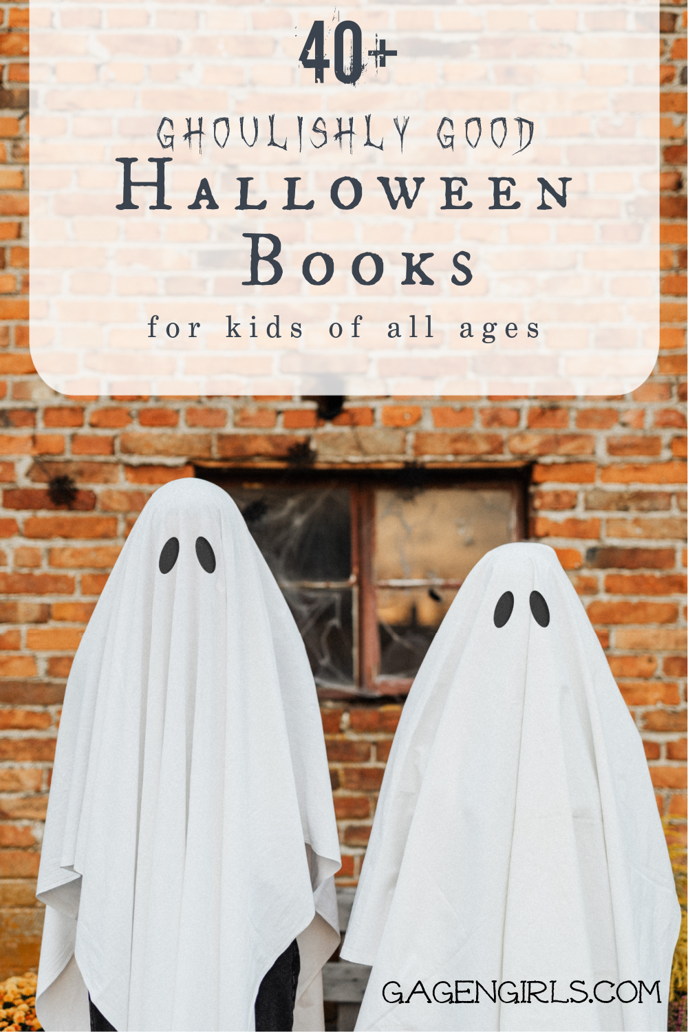40+ Ghoulishly Good Halloween Books for Kids of All Ages