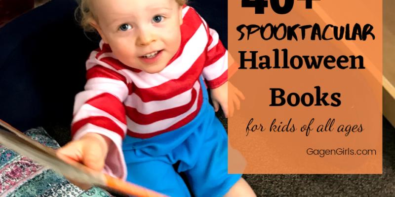40+ Halloween Books for Kids