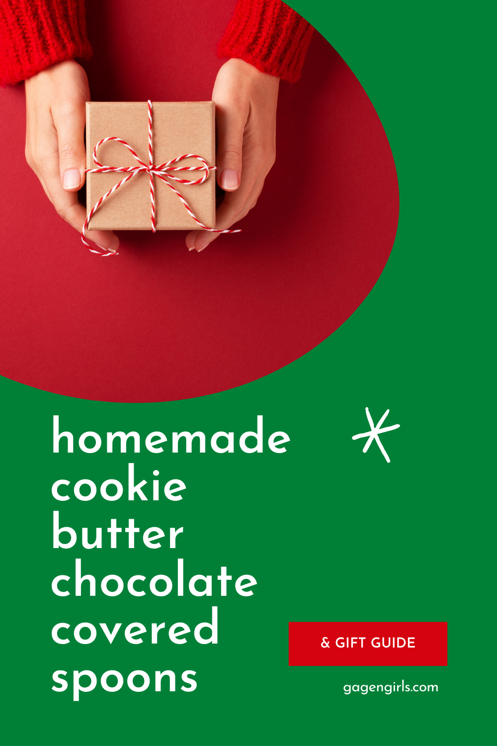Homemade Cookie Butter Chocolate Covered Spoons (& Bonus Christmas Gift Guide)