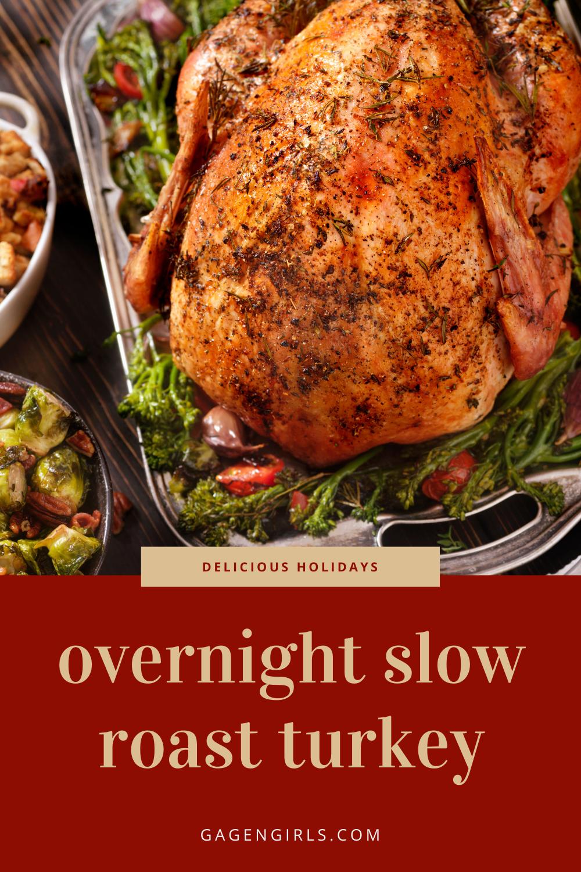 Overnight Slow Roast Turkey
